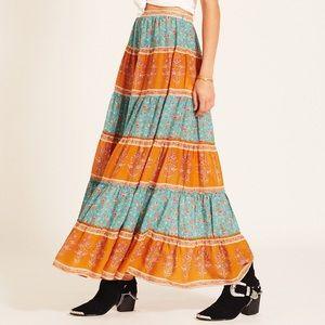 Arnhem Wisteria Maxi Skirt
